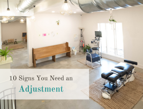 10 Signs You Need an Adjustment